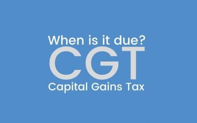 When is Capital Gains Tax Due?