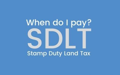 When do I pay Stamp Duty Land Tax?